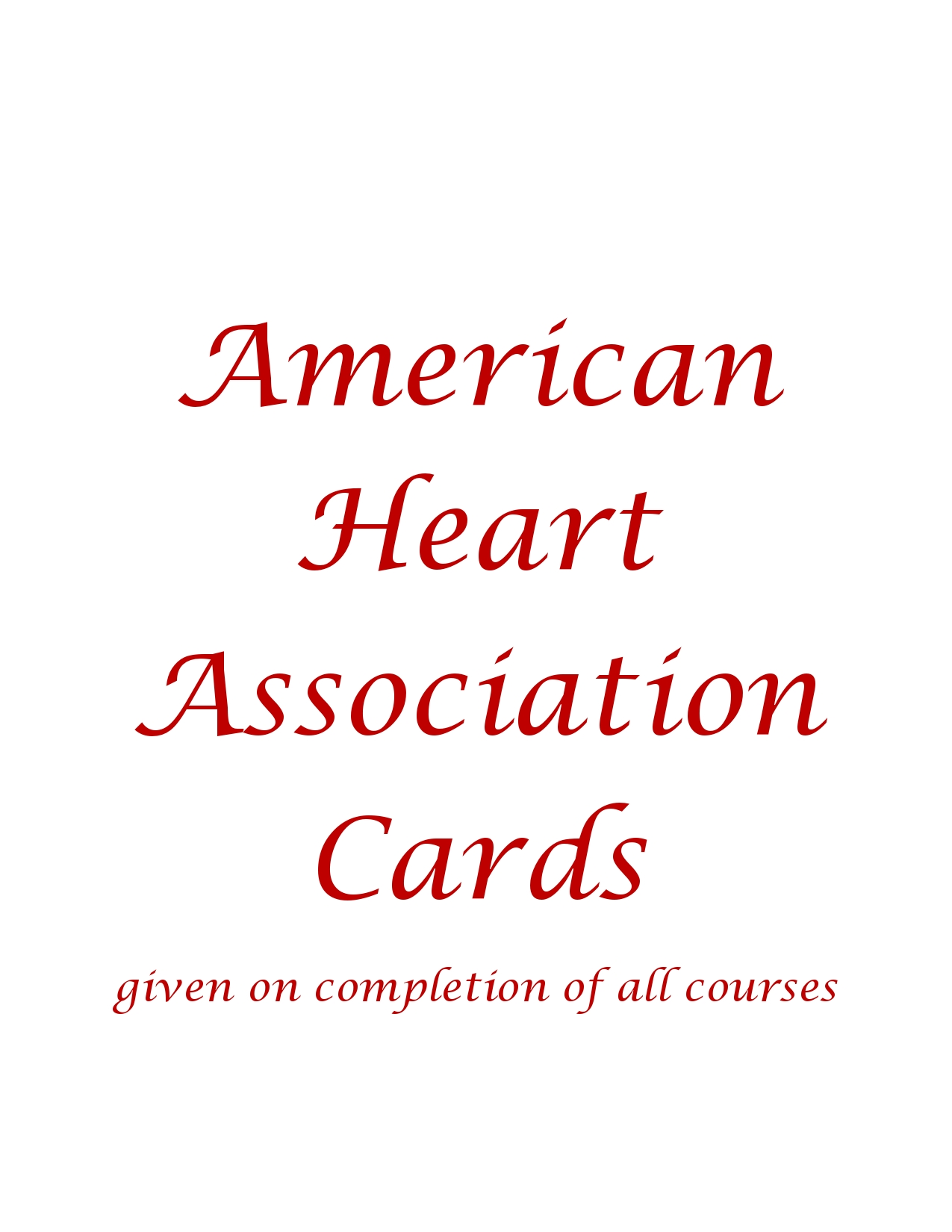 Welcome To Pullman Moscow Cpr And First Aid American Heart